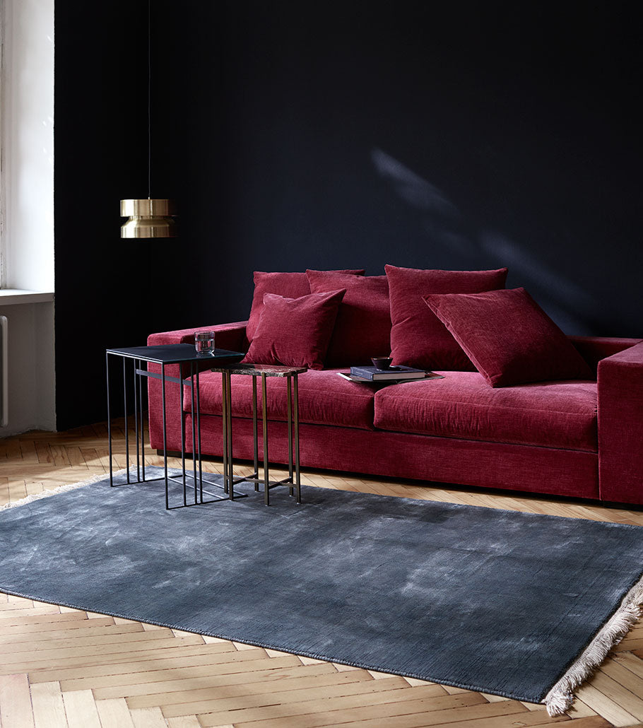 BoConcept Bay Area Cenova Sofa and Alba Side Table