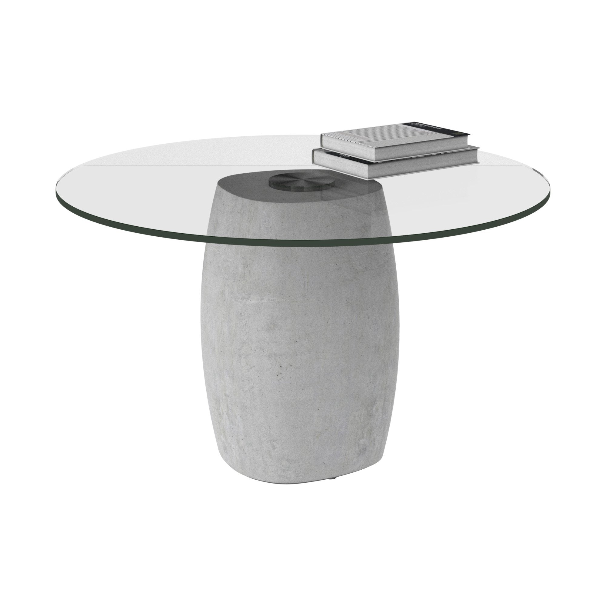 - Bilbao Coffee Table - Round Clear Glass BoConcept Bay Area