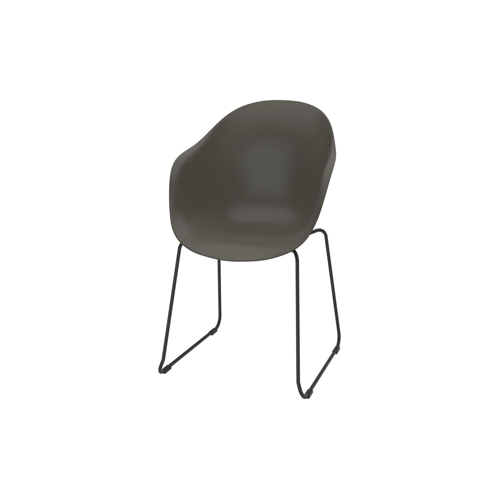 Adelaide chair (for in- and outdoor use) - Black