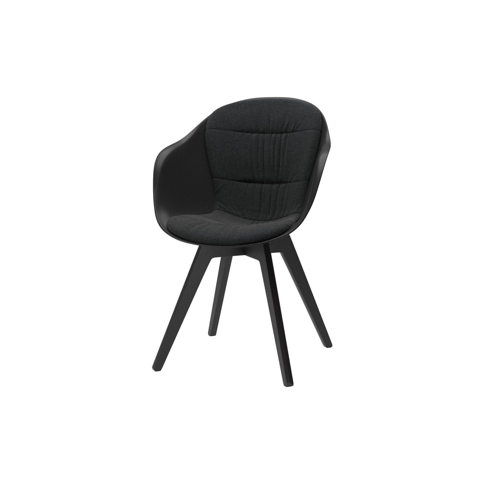 Adelaide Chair - Dark Gray Lux