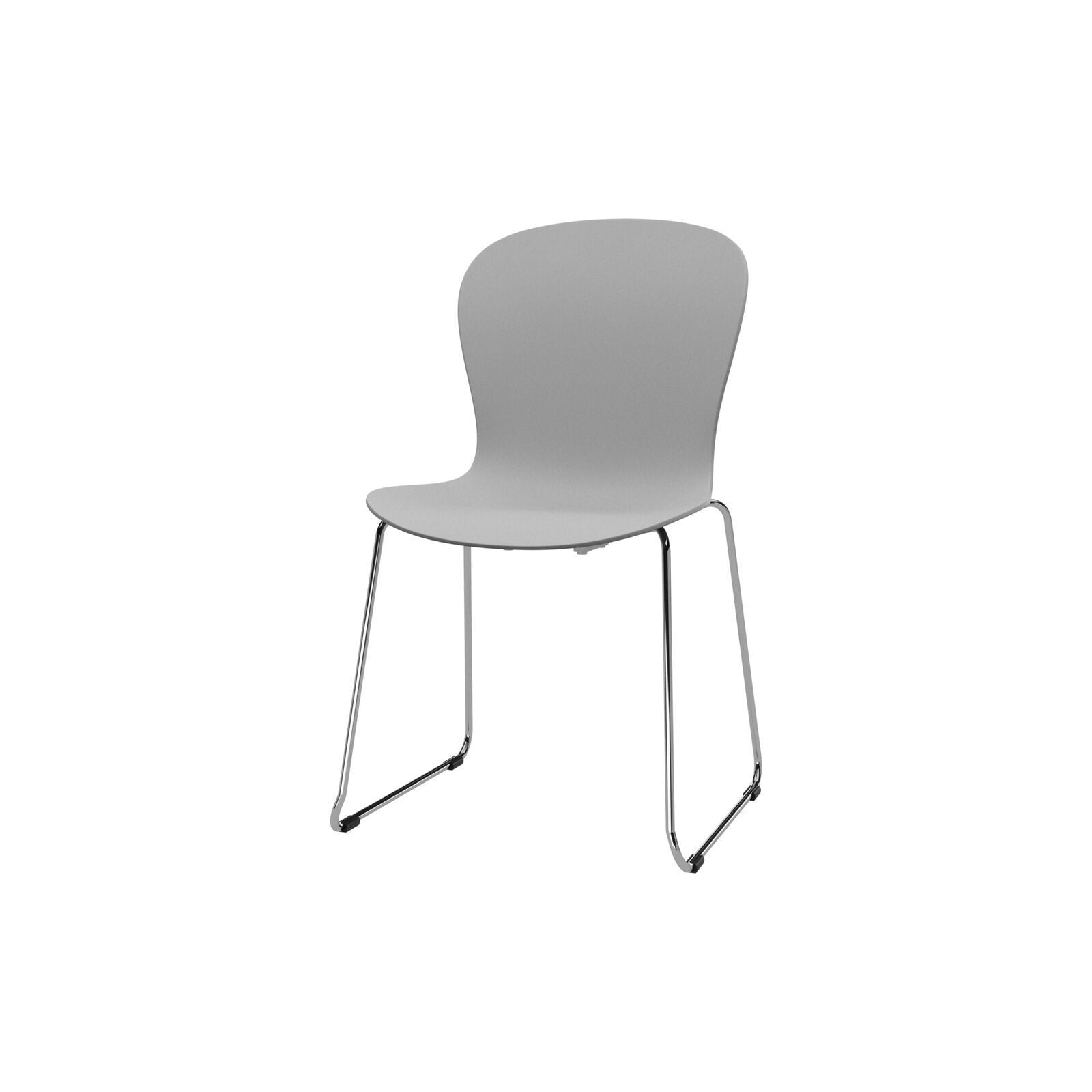 Adelaide chair - White/Chrome