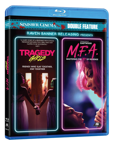 TRAGEDY GIRLS & M.F.A - DOUBLE FEATURE BLU-RAY