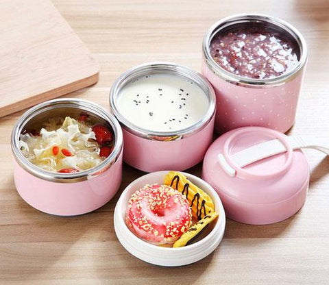"""Miki"" Leak-Proof Thermal Compartment Lunch Box"
