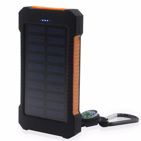10,000 mAH Solar Power Bank