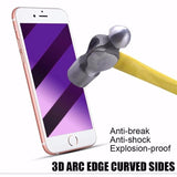 Premium Anti Blu-Ray 3D Curve Tempered Glass Screen Protector