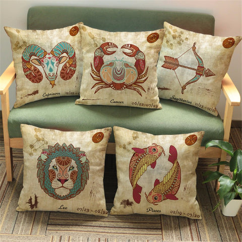 Zodiac Cushion Cover
