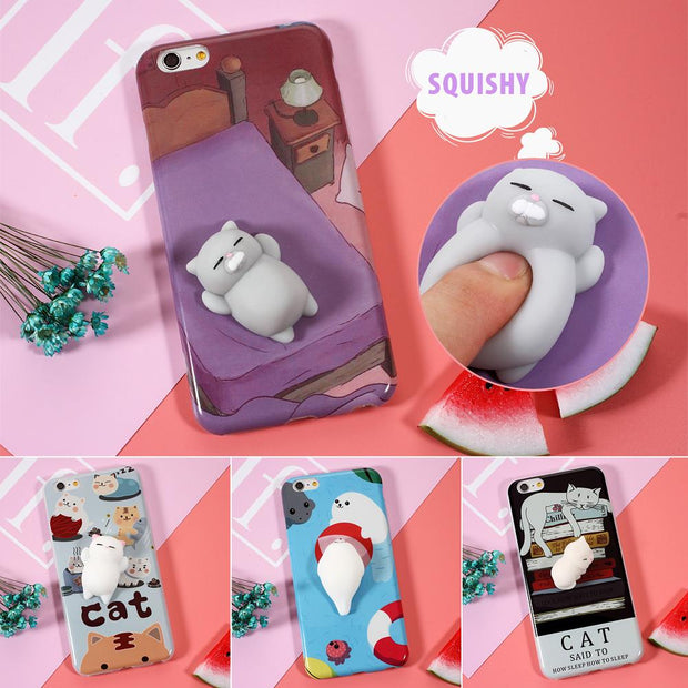 3D Squishy Animal Phone Case