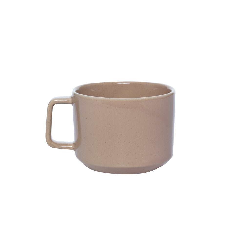Alfie Ceramic Cup Deep Clay