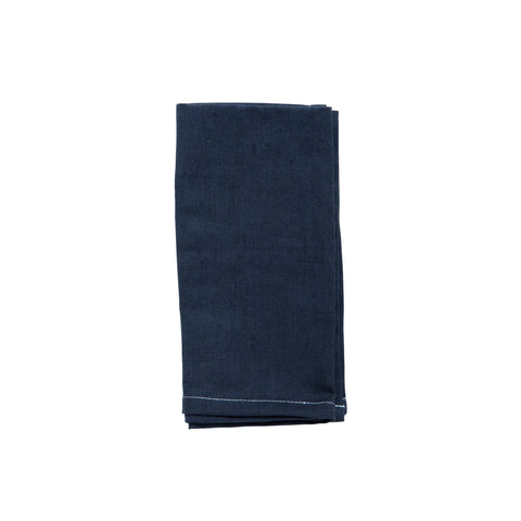 Navy Cotton Napkin Set