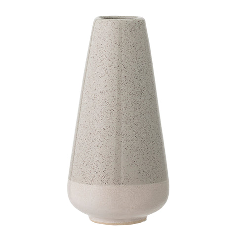 Vase Stoneware Grey ilka home danish homewares