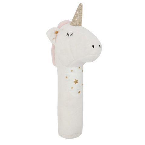 General Eclectic Stardust Unicorn Rattle ILKA HOME