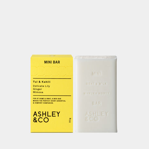 ashley and co mini bar soap tui kahili bar