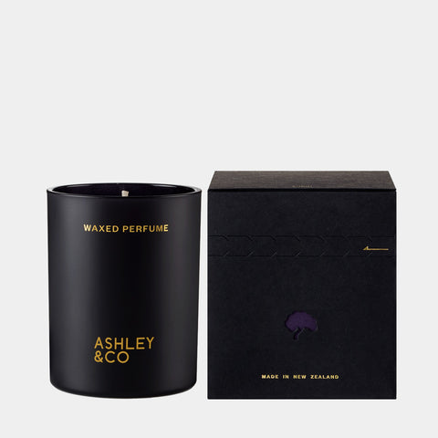 Waxed Perfume Candle Once Upon + Time Fig Ashley & Co 100% natural