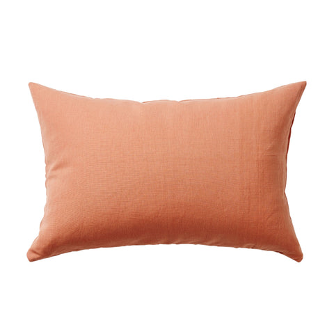 Persimmon Plain woven cotton Cushion