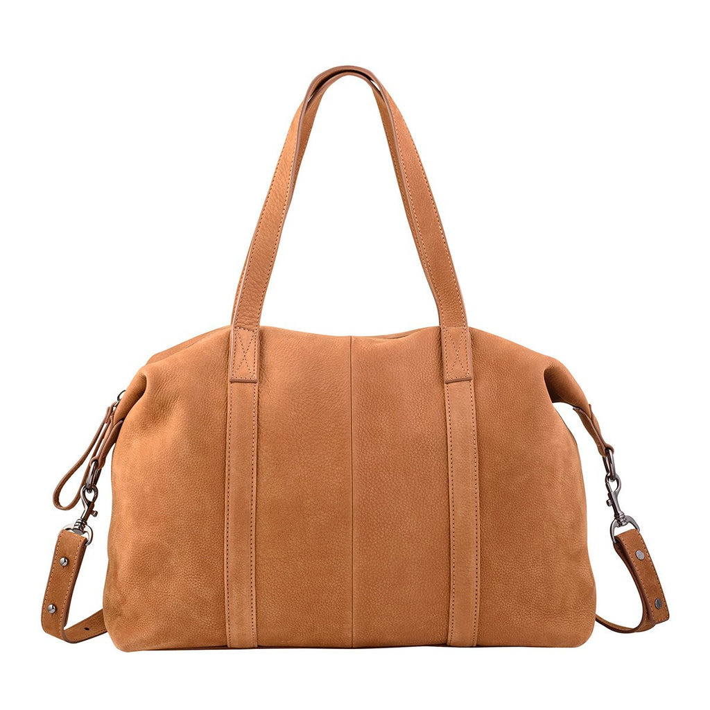 Status Anxiety Fall of Hearts Leather Bag Tan ILKA HOME