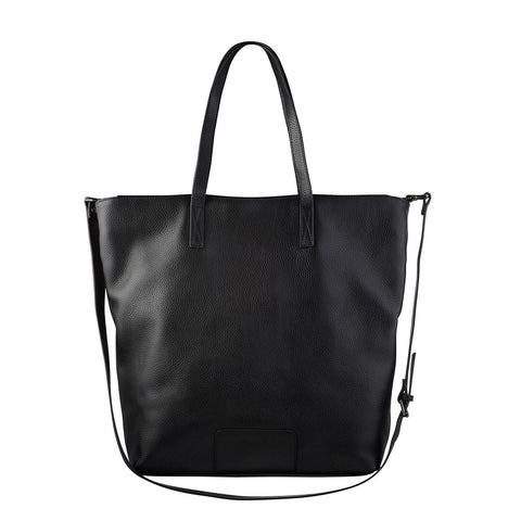 Status Anxiety Fire on the Vine Leather Bag Black ILKA HOME