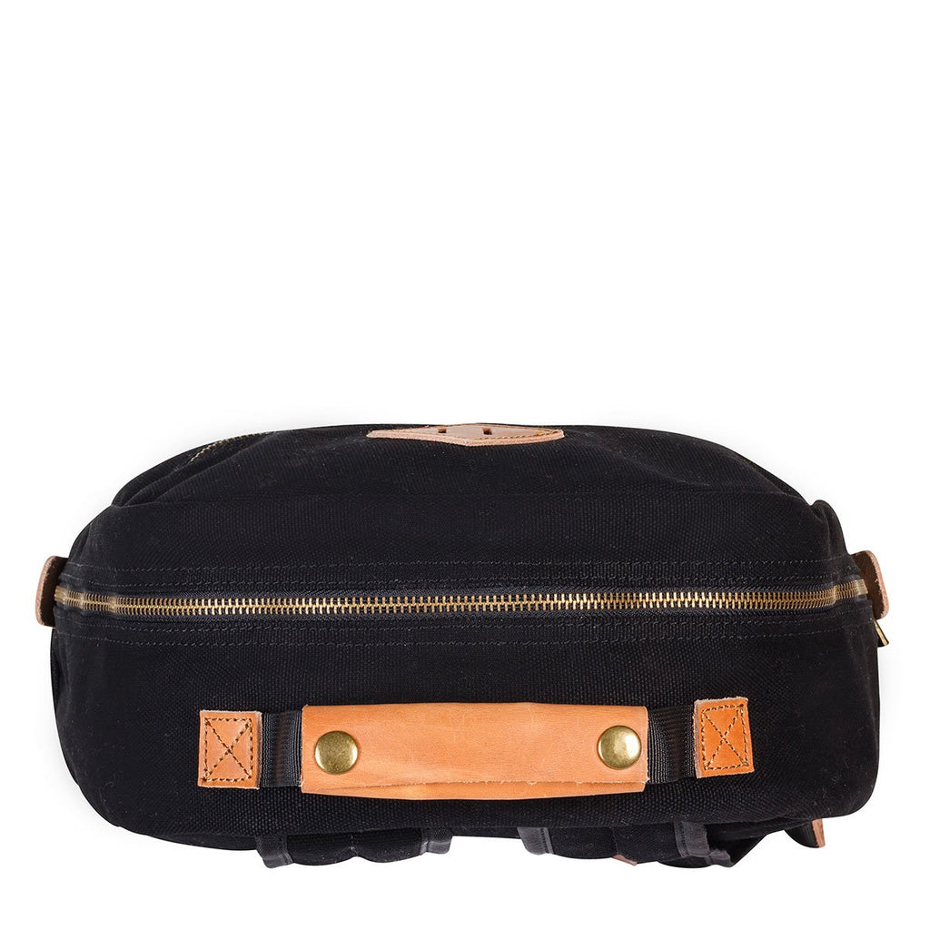 Status Anxiety The Void Leather Bag Black ILKA HOME