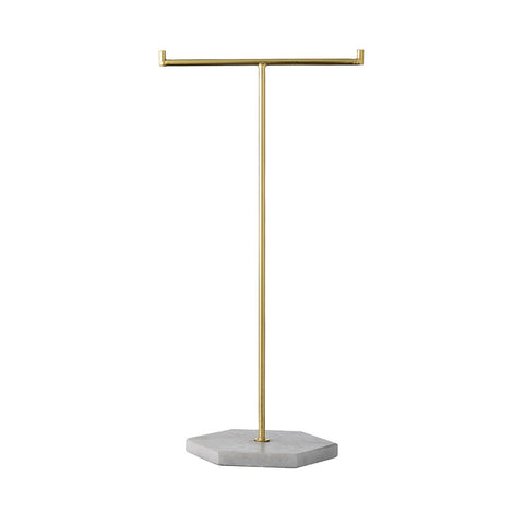 bloomingvile jewellery stand holder jewels gold