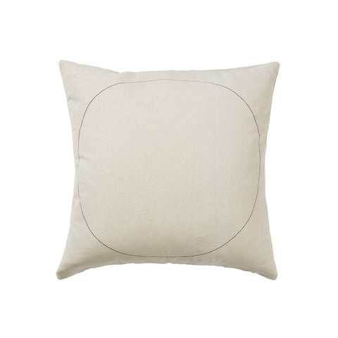 Stone Circle minimal cotton Cushion