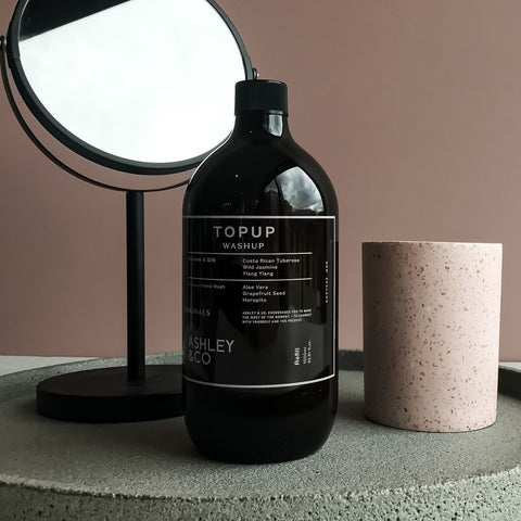TopUp Hand Wash Blossom + Gilt