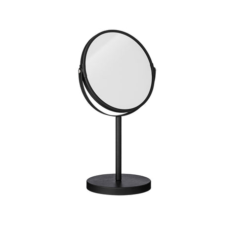 Monochrome Black Round 2 Sided Mirror Bloomingville