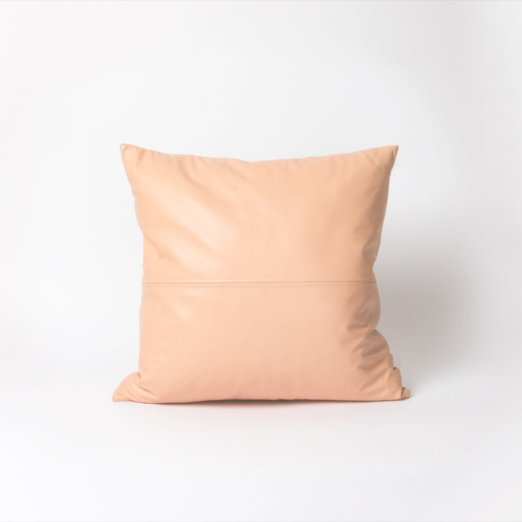 Peaches Leather Cushion