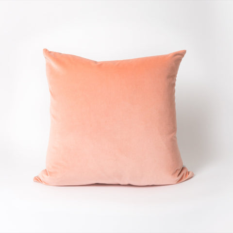 Dana Cushion | Velvet Peach