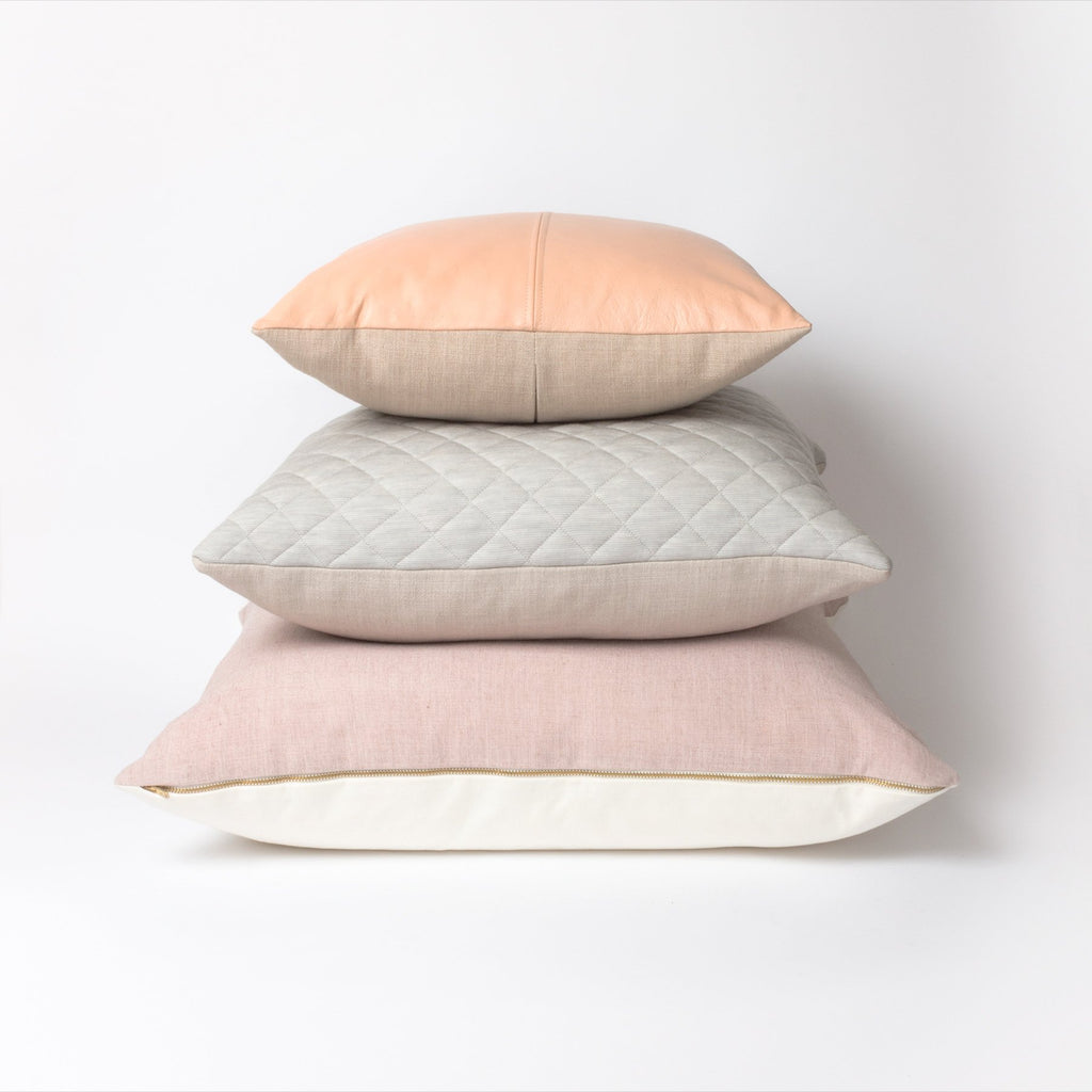 Peaches Cushion | Leather