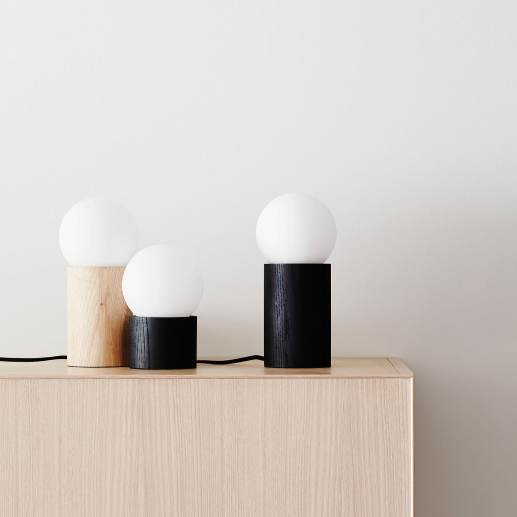 Minimalist Lamp Black Tall