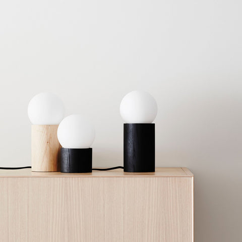 Minimalist Lamp Timber Short