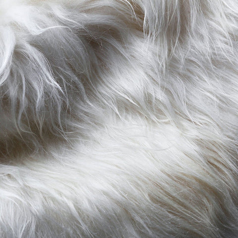 Icelandic Sheepskin Rug | Natural White