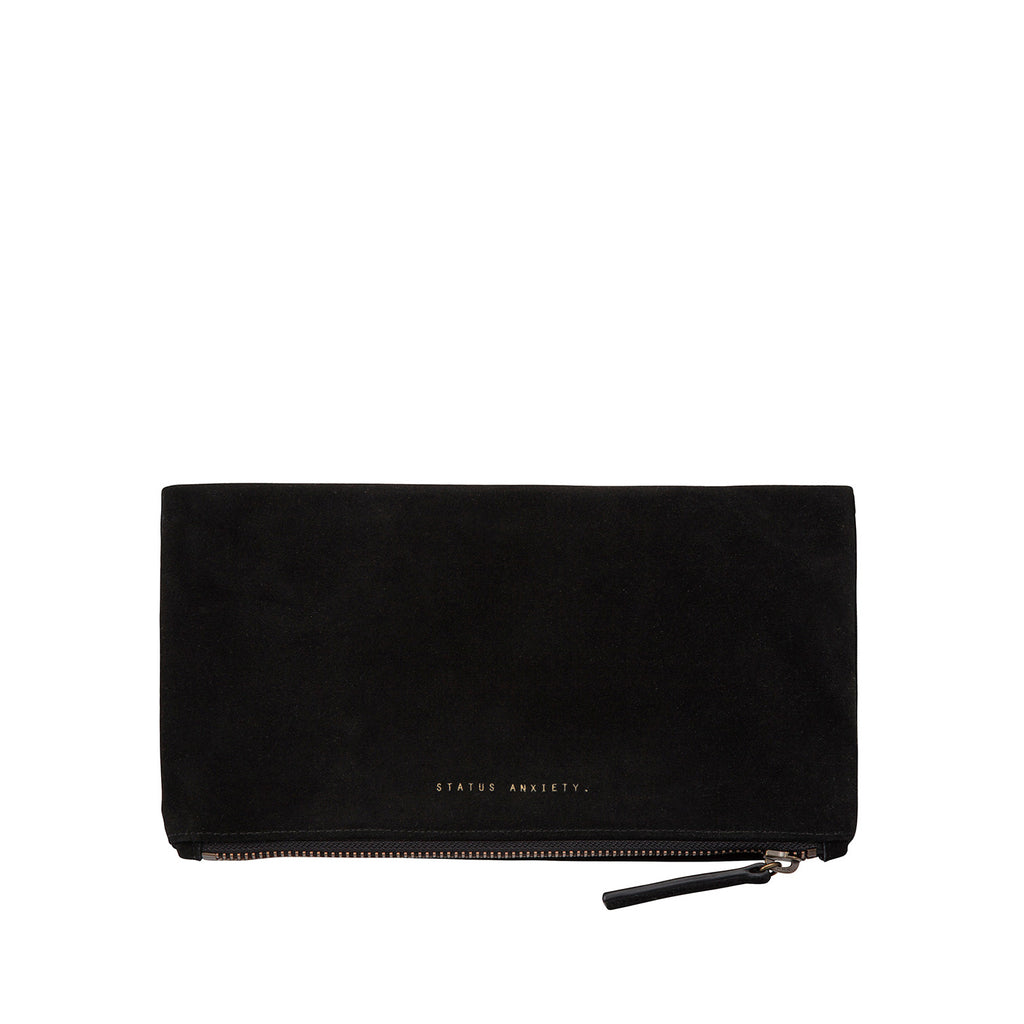 Feel The Night Clutch | Black
