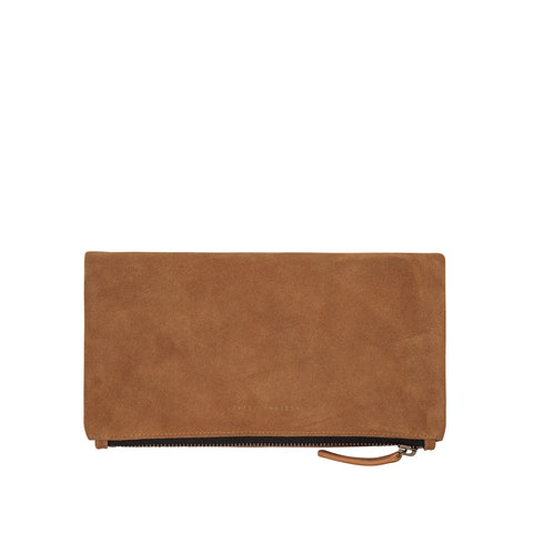 Feel The Night Clutch | Tan