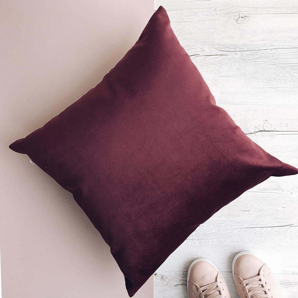masala velvet bold cushion