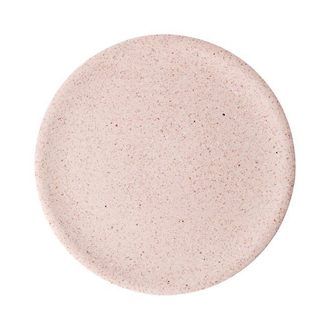 ilka home zakkia terrazzo dimple tray large rose