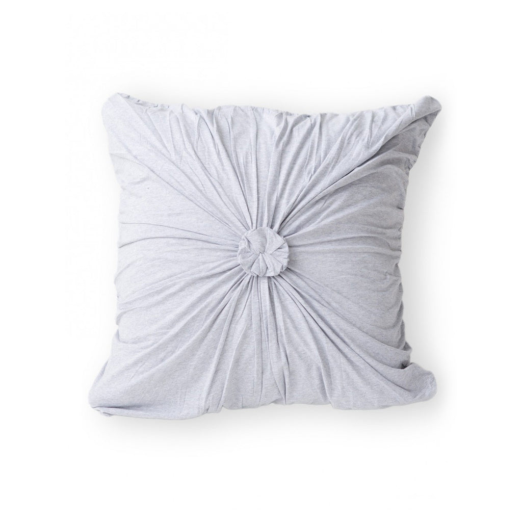 Organic cotton jersey rosette euro pillowcase by lazybones