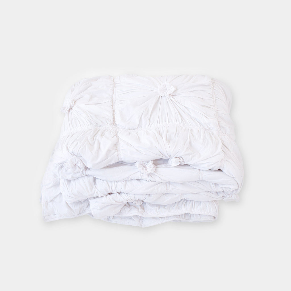 lazybones rosette euro pillow case organic cotton case