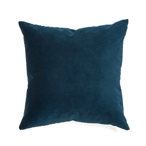 Isabelle Cushion | Velvet Green Blue
