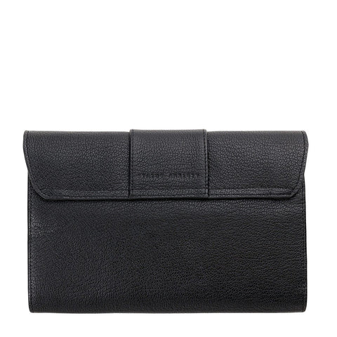 Ida Wallet Black Leather