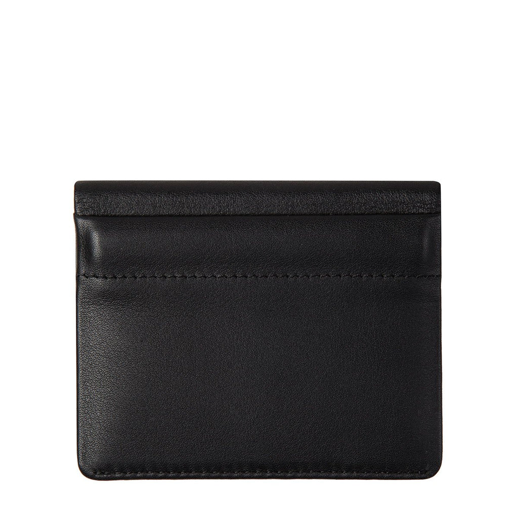 status anxiety lennen wallet leather black back