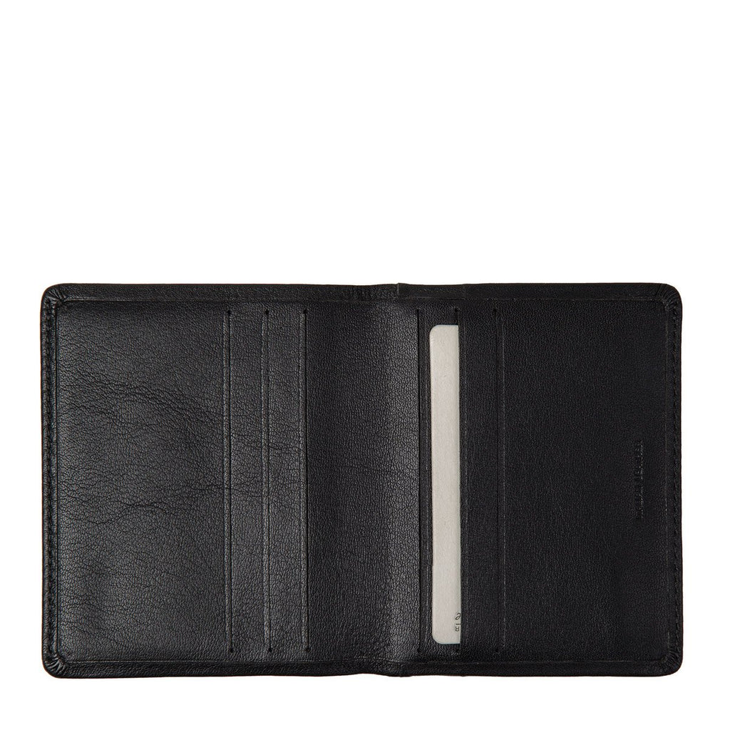 Lennen Leather Wallet Black