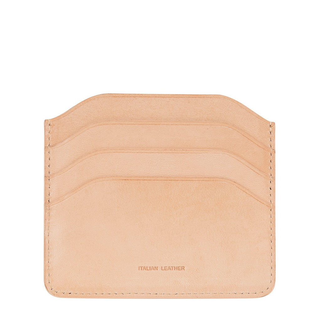 Status Anxiety Earl Tan Leather Wallet ILKA HOME