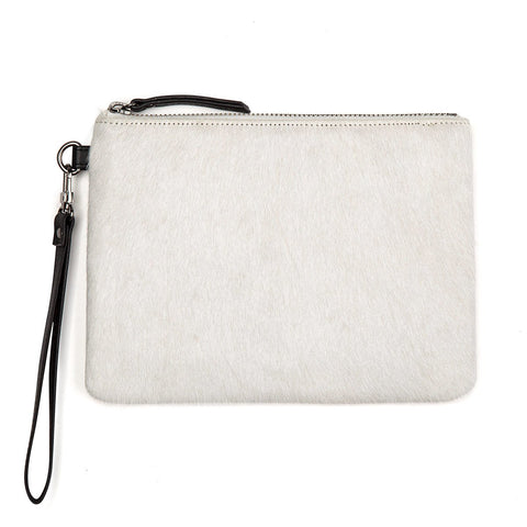 Status Anxiety Fixation Leather Wallet Arctic Fur ILKA HOME
