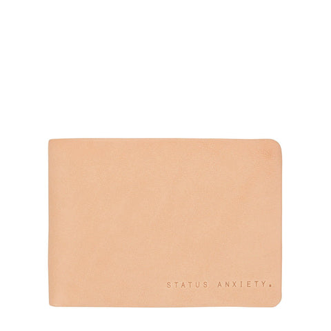Status Anxiety Jonah Tan Leather Wallet ILKA HOME