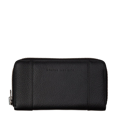 State of Flux Wallet Black Ilka Home