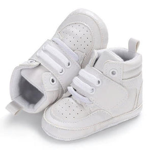High Top Sneaks - White - Urban Tots