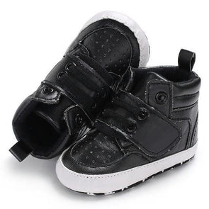 High Top Sneaks - Black - Urban Tots
