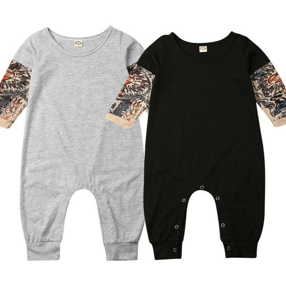 Tattoo Sleeves Jumpsuit - Urban Tots