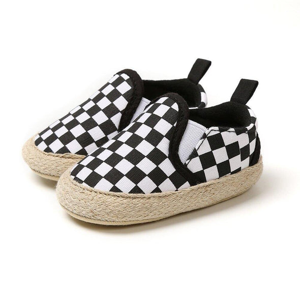Casual Slip Ons - Checkered - Urban Tots