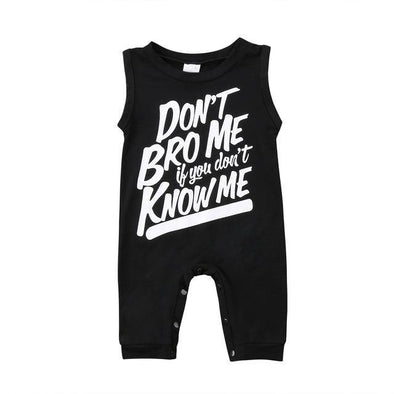 Don't Bro Me Jumpsuit - Urban Tots